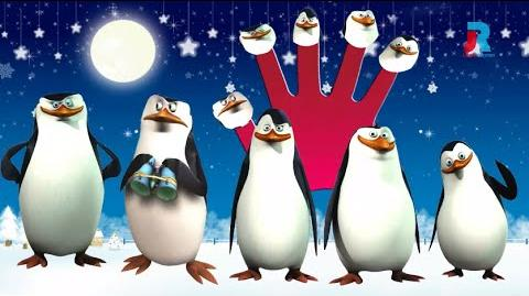 Penguin Cartoon Finger Family Rhymes For Children Cartoon Animation Rhymes Collections