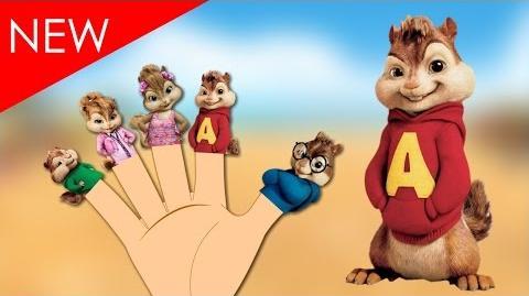 Finger Family Chipmunks Alvin And The Chipmunks Finger Family Animal Nursery Rhymes For babies