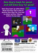 Geo Adventure Gree Guy's Returns PS2 back cover NTSC