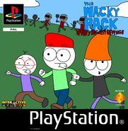 The Wacky Pack - Vio's Biggest Revenge PS1 Cover Art (PAL)