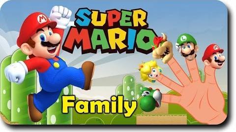 Finger Family Super Mario Finger Family Songs Super Man Finger Family Parody