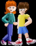 Gabriel and Megan (Megriel)