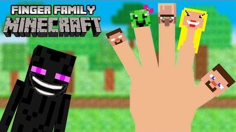 Minecraft Finger Family - Minecraft Nursery Rhyme Song