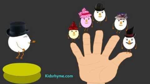 Silly Egg Finger Family (Mummy Finger) - Nursery Rhyme - Children Song