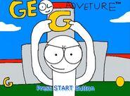 Geo Adventure Title Screen
