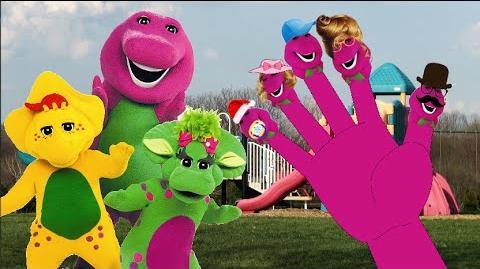 Barnneys Finger Family Nursery Rhyme