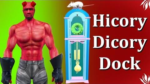 Hellboy Hickory Dickory Dock Rhyme Popular Kids Rhyme Cartoon Rhyme