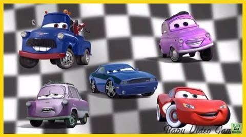 Finger Family Song Cars - Preschool songs for Children - Cars Finger Family Song for Kids