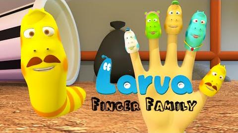 Larva Finger Family 3D Animation In HD From Binggo Channel