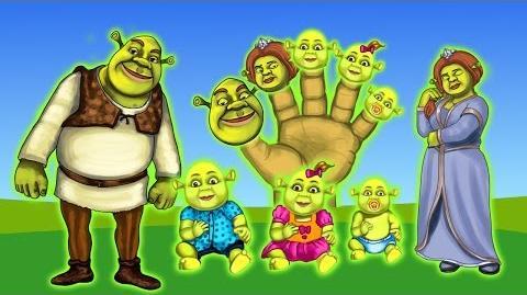 Finger Family Song Shreck Finger Family Songs Daddy Finger Nursery Rhymes