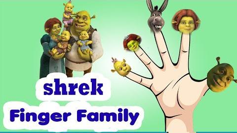 SHREK Finger Family Rhymes Collection for kids