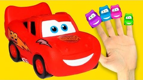 Cars Finger Family Nursery Rhymes for Kids