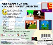 Geo Adventure PS1 GH back cover