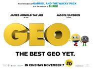 Geo (2013) UK Quad Poster