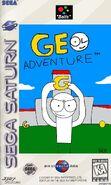Geo Adventure Sega Saturn Cover NTSC