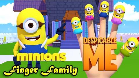 Minion Despicable Me Finger Family Nursery Rhymes 3D Animation In HD From Binggo Channel