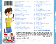 Gabriel and the Wacky Pack OST back cover