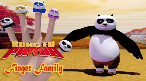 Po Kung Fu Panda Finger Family Nursery Rhymes 3D Animation In HD From Binggo Channel