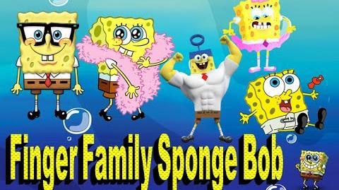 The Finger Family Spongebob - Family Nursery Rhyme - SpongeBabe Finger Family Songs