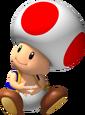 Super Mario Galaxy Toad Artwork