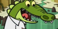 Nerdy Crocodile