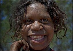 Aboriginal-girl-by-Rusty Stewart