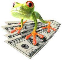 Money froggy