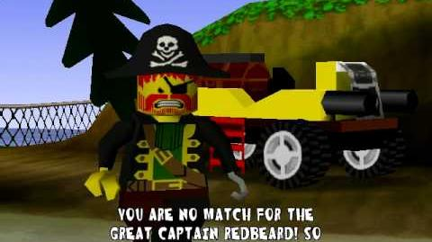 Lego Racers Captain Redbeards Opening
