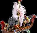 Viking Ship 3 Sticker