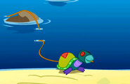 Is that a real turtle S1E5