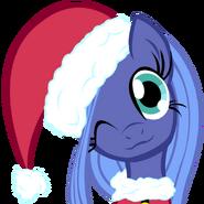 Luna Christmas pony