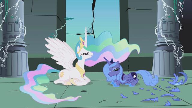 File:Princess Celestia and Princess Luna S1E01.png