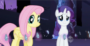 190px-Fluttershy and rarity with elements of harmony episode 2