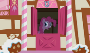 Pinkie calling from the sugarcube S1E9