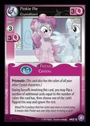 Pinkie Pie, Crystallized