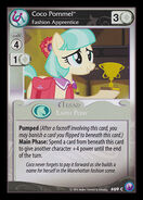 Coco Pommel, Fashion Apprentice