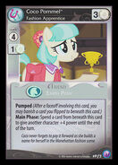 Coco Pommel, Fashion Apprentice (Canterlot Nights Promo)