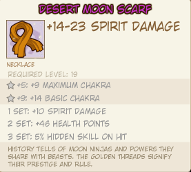 Desert moon scarf