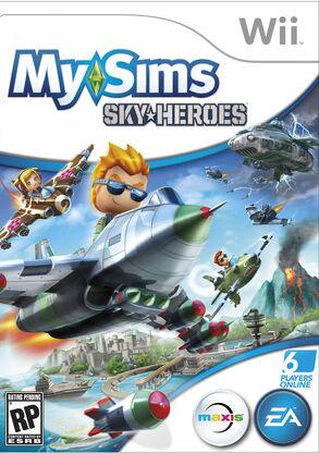 SkyHeroes Wii Boxart