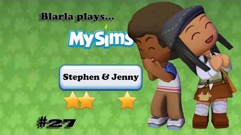 MySims (Episode 27 - Stephen & Jenny)