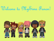 Welcome to MySims Fanon