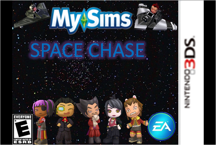 MySims Space Chase 3DS