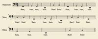 Sheetmusic Mammott Shugabush1