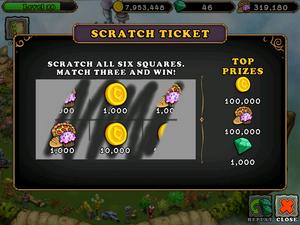 Scratch ticket
