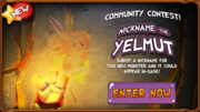 In-game Yelmut promo