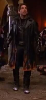 Mr. Furious' updated uniform