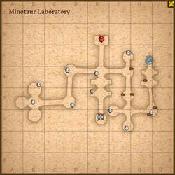 Minotaur laboratory map