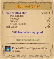Hooked staff 1