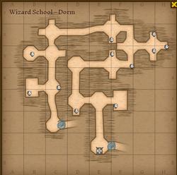 Wizard school drom map