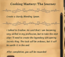 Cooking Mastery: The Journey